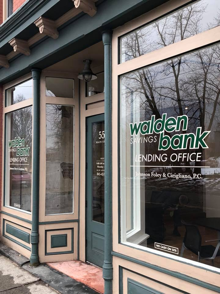 WALDEN SAVINGS BANK OPENS LOAN PRODUCTION OFFICE IN DUTCHESS COUNTY