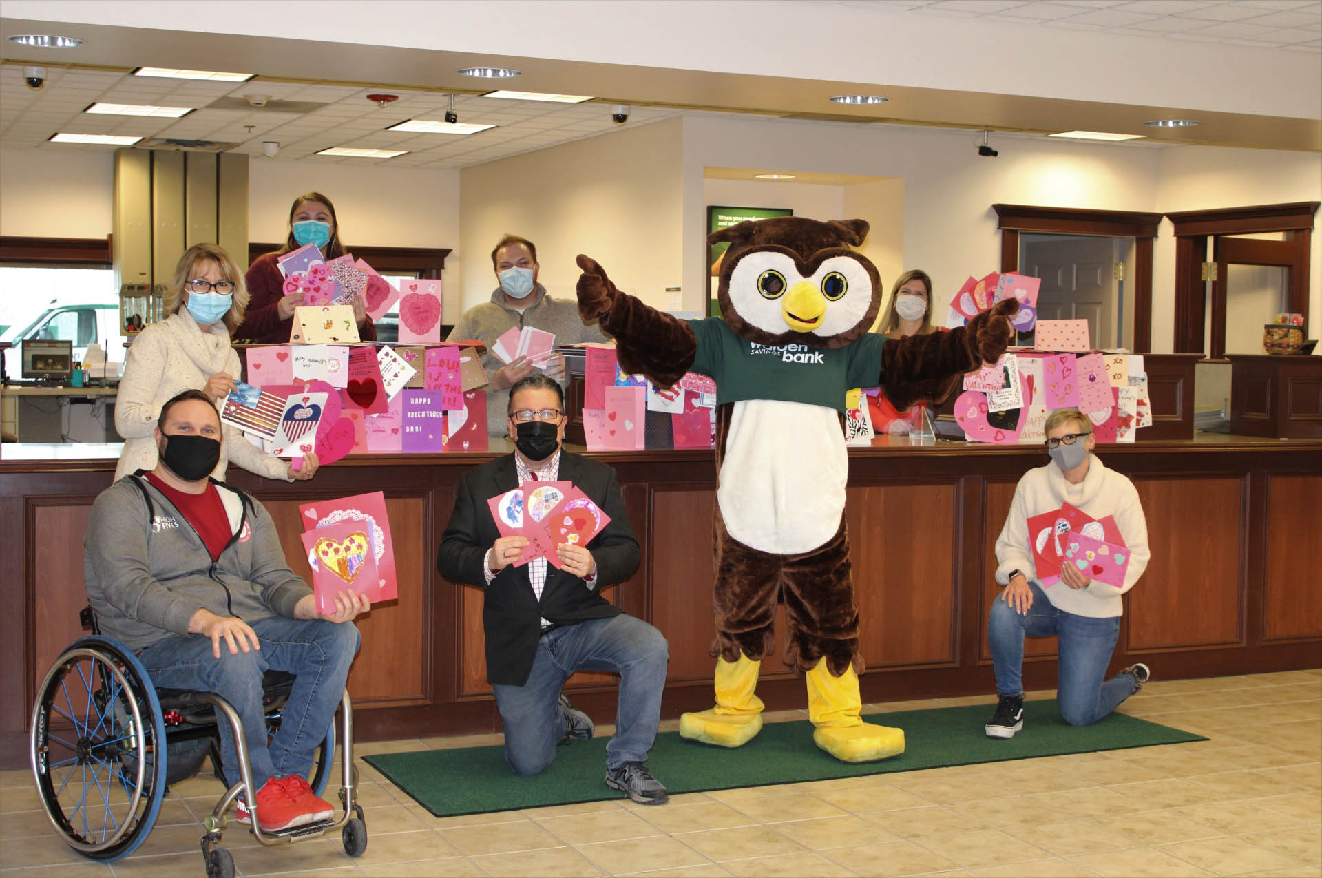WALDEN SAVINGS BANK JOINS REPRESENTATIVE SEAN PATRICK MALONEY'S  VALENTINES FOR VETERANS INITIATIVE FOR SIXTH STRAIGHT YEAR