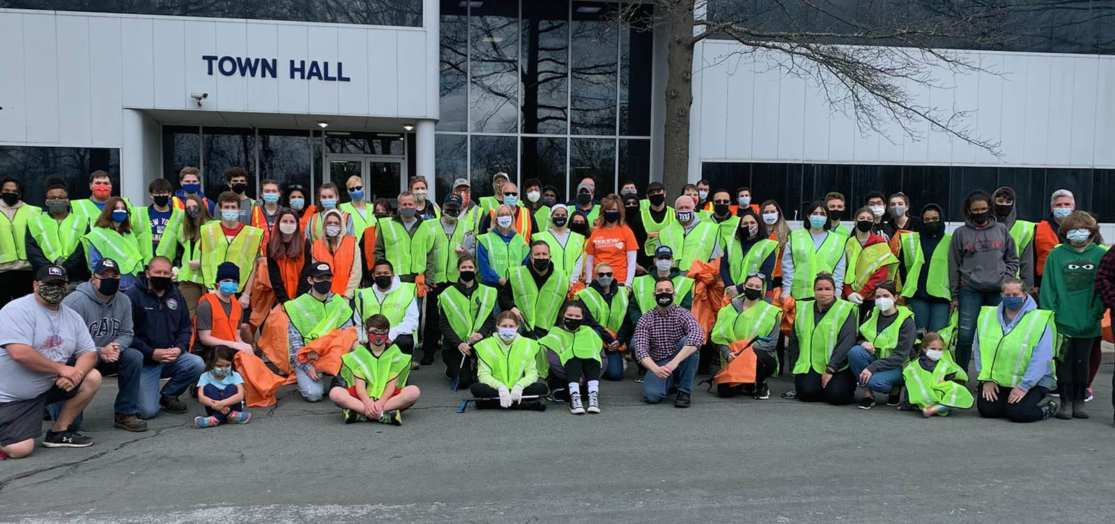 WALDEN SAVINGS BANK PARTICIPATES IN TOWN OF MONTGOMERY CLEAN SWEEP