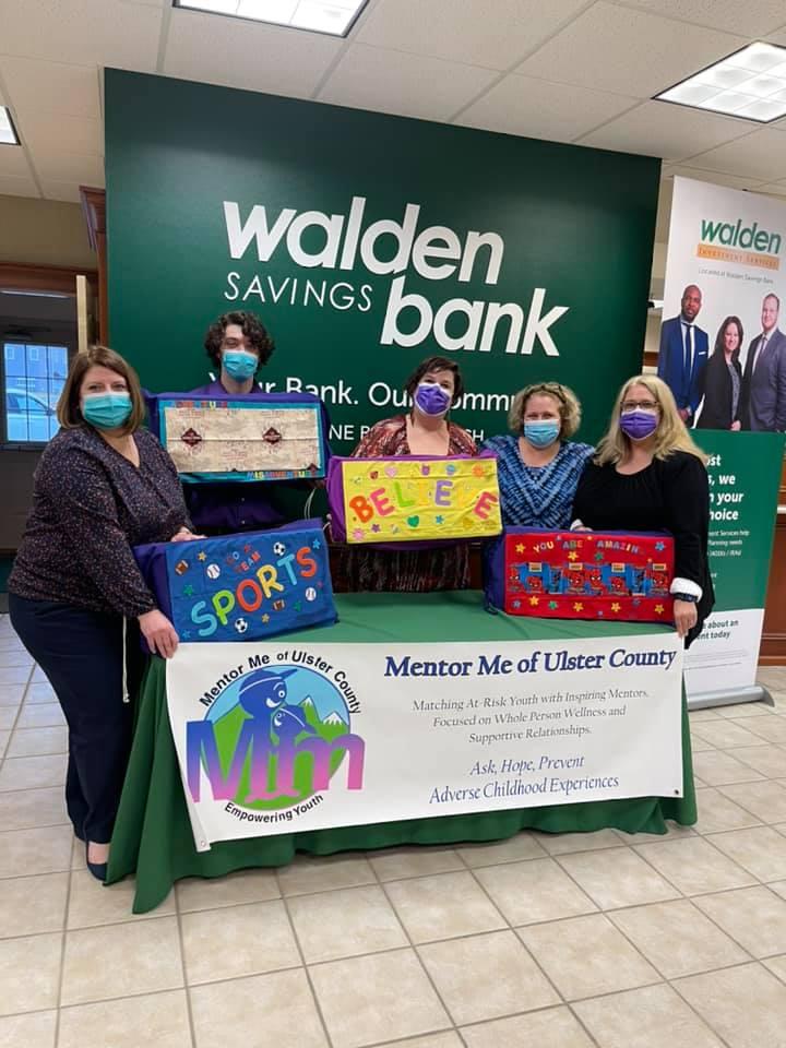 WALDEN SAVINGS BANK PINE BUSH BRANCH VOLUNTEERS FOR MENTOR ME OF ULSTER COUNTY