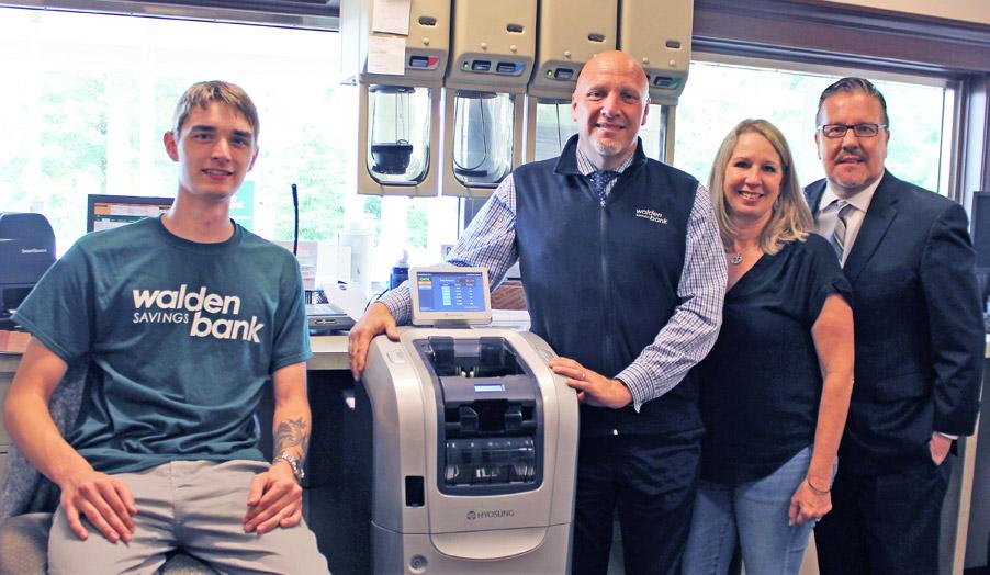Historic Walden Savings Bank embraces newest technology
