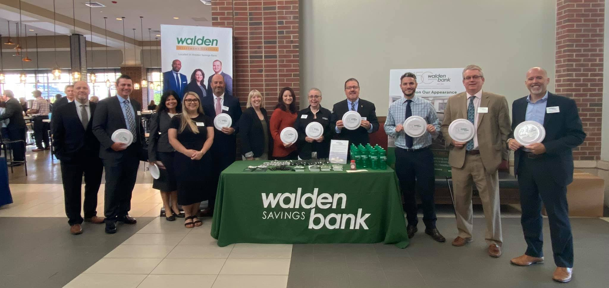 WALDEN SAVINGS BANK SPONSORS CHAMBER BREAKFAST