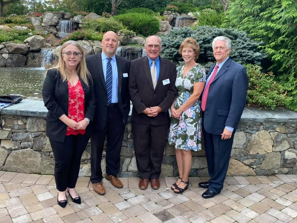 WALDEN SAVINGS BANK ATTENDS OTTAWAY MEDAL DINNER