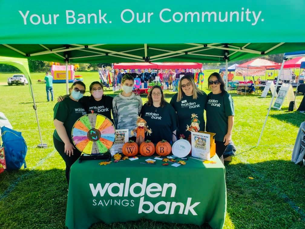 WALDEN SAVINGS BANK PARTICPATES IN WALDEN HARVEST FESTIVAL
